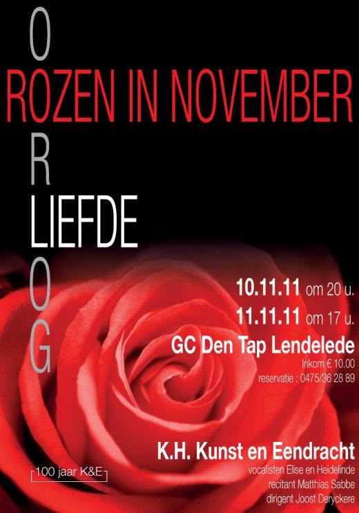2011_affiche rozen in november